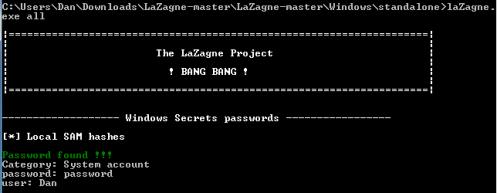 LaZagne 2